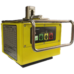 Battery operated self-contained Electropermanent lifting magnet